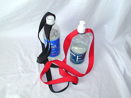 Water Bottle Holder - Nylon Web Strap